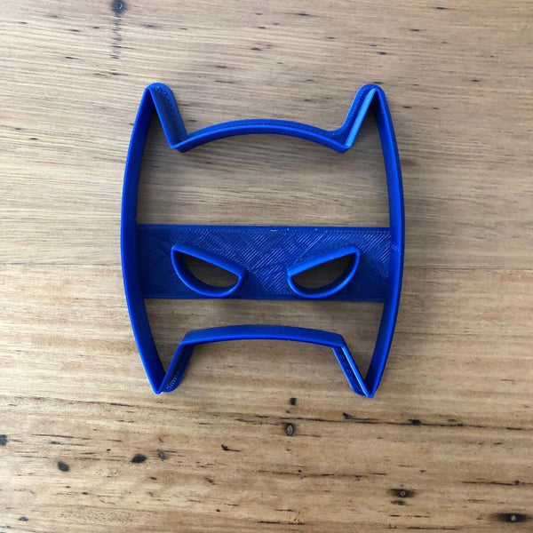 "Batman Mask Cookie Cutter measures approx. 90mm tall by 65mm wide  Don't miss our other Batman and Superhero theme cookie cutters - just type in ""Superhero"" or ""Batman"" into our search bar."