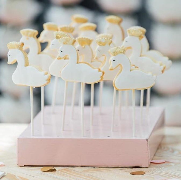Swan Cookie Cutter measures approx. 70mm tall by 80mm wide.  Check out our other Swan designs in store too!