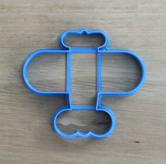Airplane style 1 Cookie Cutter