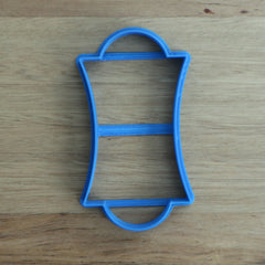Placque style #2 thin rectangle Cookie Cutter
