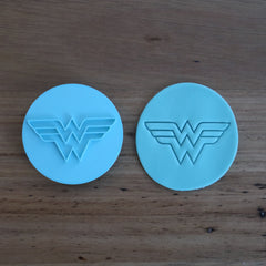 Wonder Woman Logo Stamp