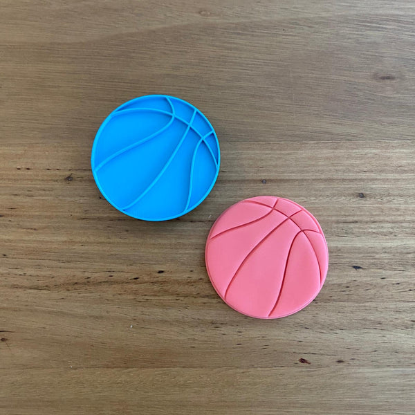 Basket Ball Cookie Cutter and Stamp Set