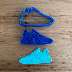 Running Training Shoe style #1 Cookie Cutter and Stamp Set
