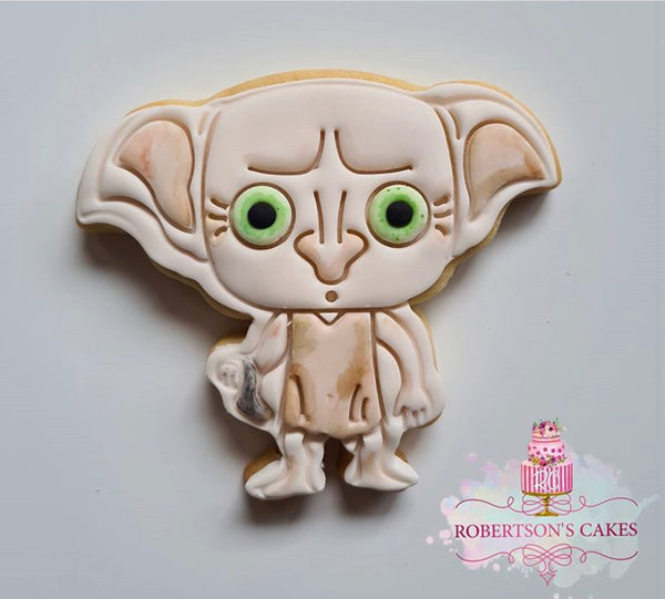 Dobby from Harry Potter Cookie Cutter & Stamp Set