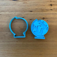 Globe World Map Cookie Cutter & Emboss