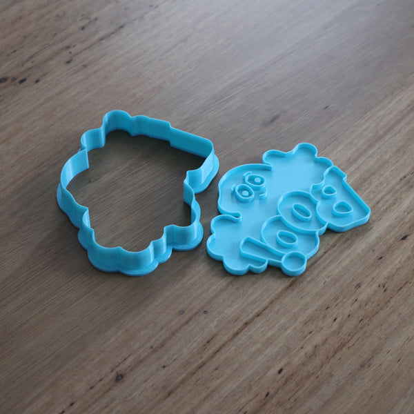 BOO! Cookie Cutter and Stamp Set perfect for Halloween
