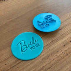 Bride TO BE Emboss Stamp - 70mm