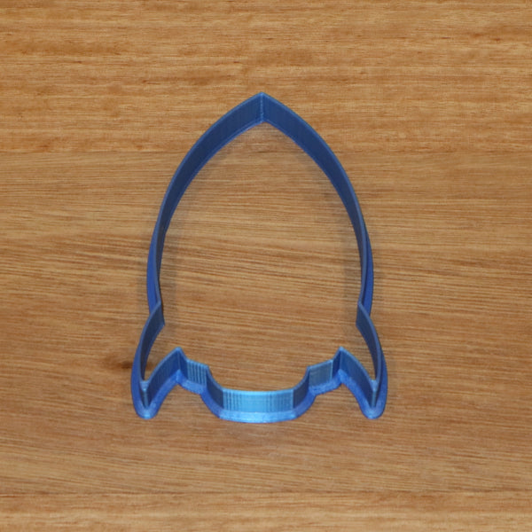 Rocket cookie cutter