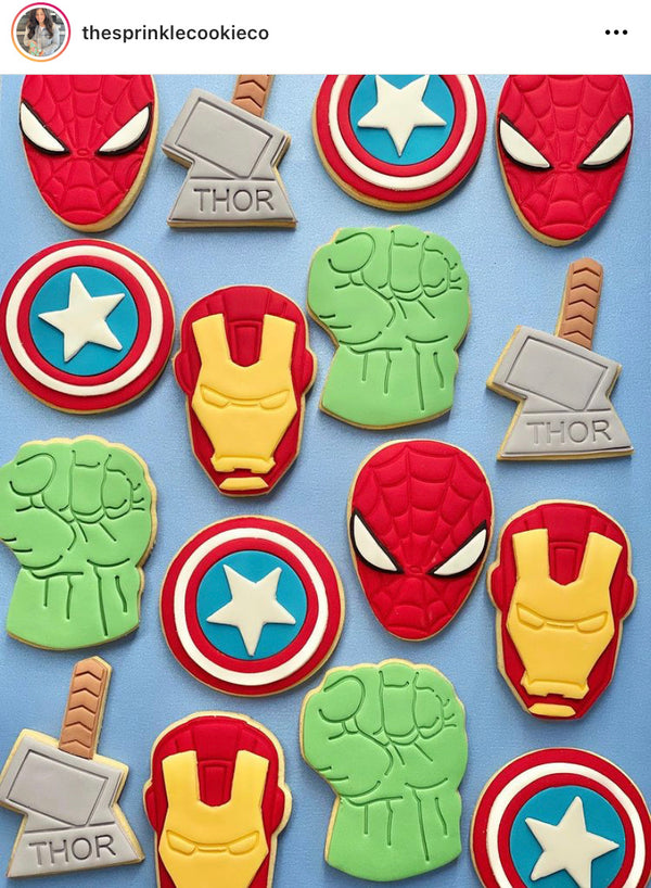 Captain America Shield Multi Set Cookie Cutters