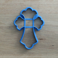 Crucifix Cookie Cutter - curved style - 3 sizes