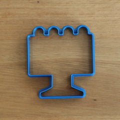 Cake stand with Cake Cookie Cutter