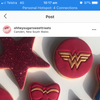 "Wonder Woman Logo Stamp measures approx. 70mm diameter.  Don't miss our Wonder Woman set and other Superhero theme cookie cutters - just type in ""Superhero"" into our search bar."