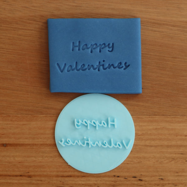 Happy Valentines Stamp Emboss