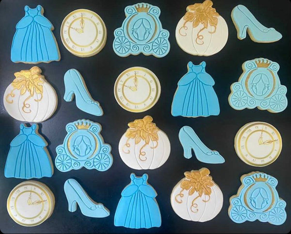 cinderella shoe cookie cutter