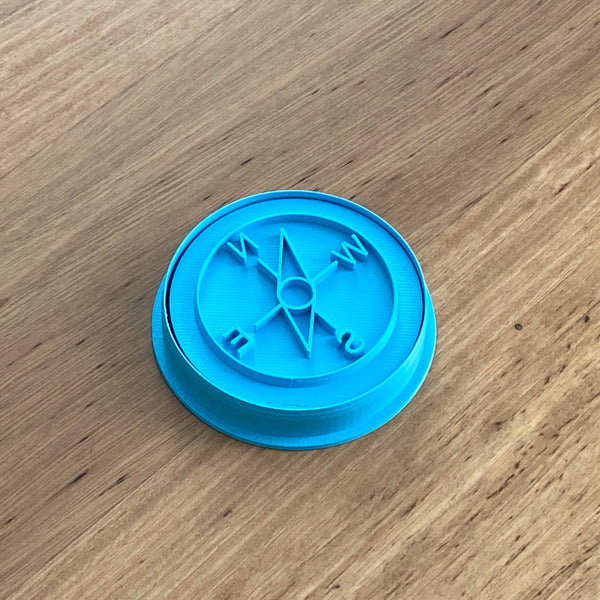 "Compass Cookie Cutter measures approx. 90mm round    Check out our other ""nautical"" themed items instore"
