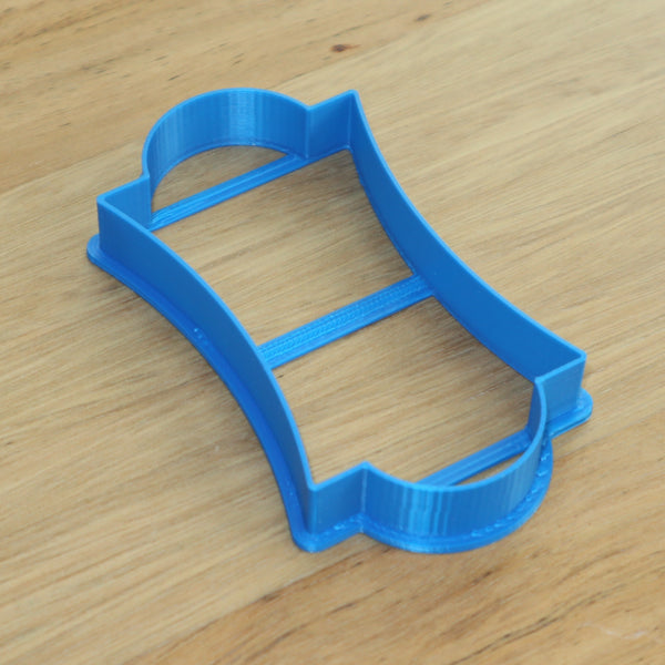rectangle placque frame cookie cutter