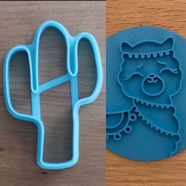 Cookie Cutter Store Llama Alpaca and Cactus Set