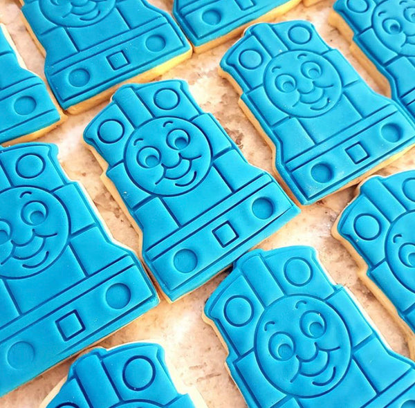 Thomas the Tank Engine Cookie Cutter and optional Stamp