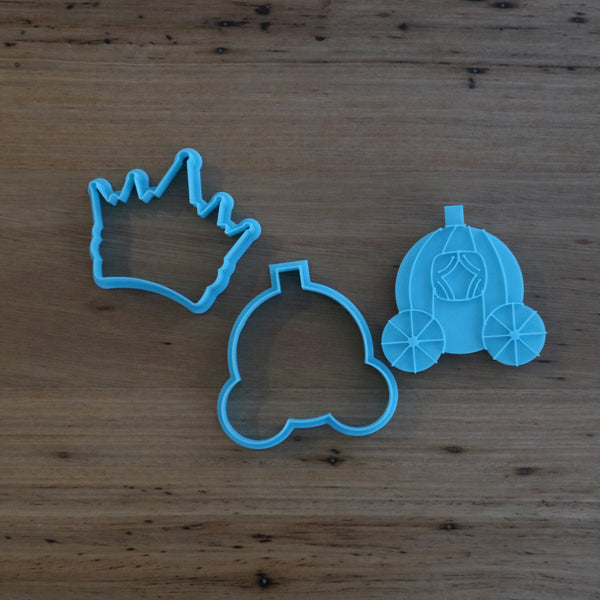 Cinderella Carriage Crown Cookie Cutter