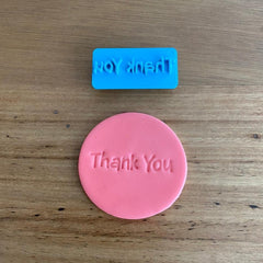 Thank You Style #1 Emboss Stamp