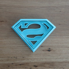 Superman Cookie Cutter and Stamp Set