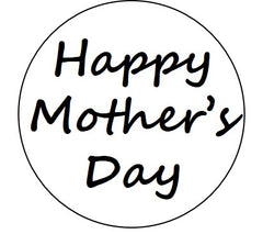 Happy Mother's Day Emboss Stamp - 70mm