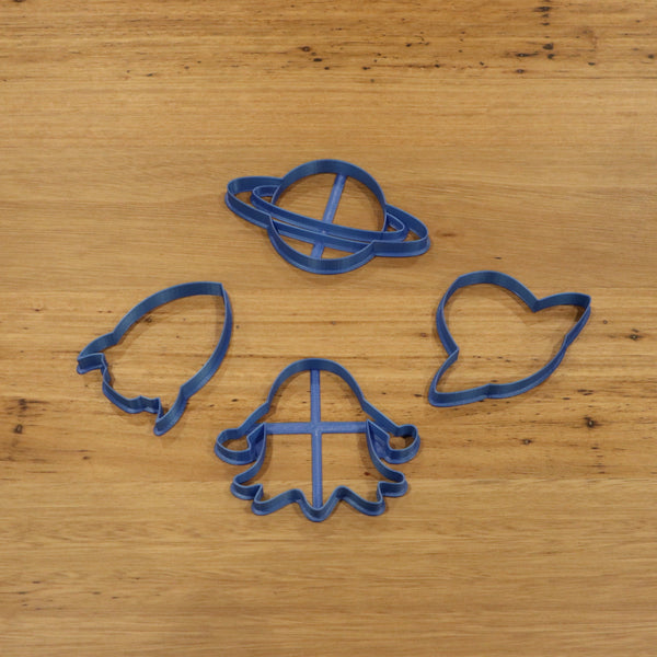 UFO Alien Rocket Planet cookie cutters