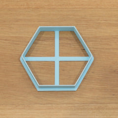 Hexagon Cookie Cutter - Various Sizes