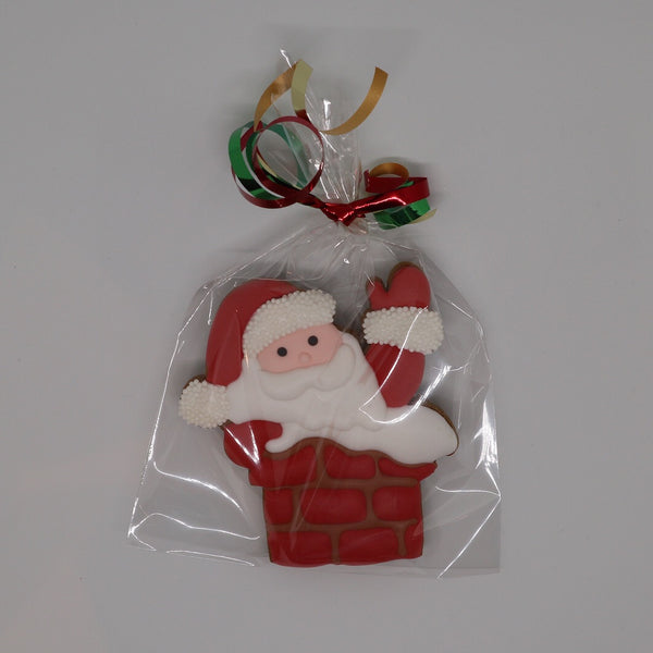Father Christmas Santa in Chimney Cookie Cutter