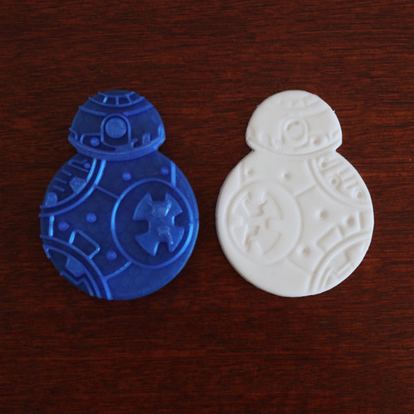Star Wars BB8 Droid Cookie Cutter and Stamp Set