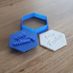 Custom Cutter & matching Custom Stamp