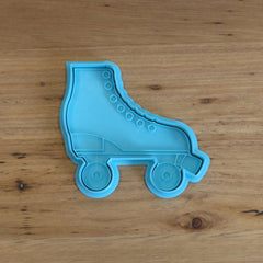 Roller Boot Cookie Cutter and Optional Stamp