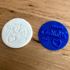 """Happy Mother's Day"" stamp emboss"
