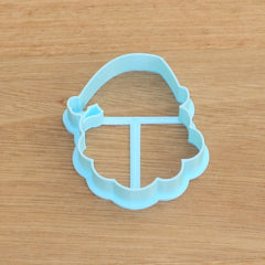 Father Christmas Santa Head Cookie Cutter