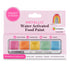 Sweet Sticks Water Activated Food Paint, Cake and Cookie Decorating, Rainbow Theme Metallic Palette, Cookie Cutter Store