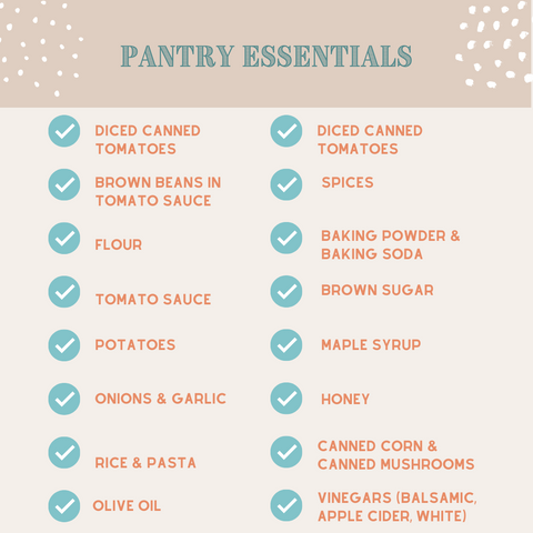 Pantry Essentials for Meal Planning Lazuli Farms