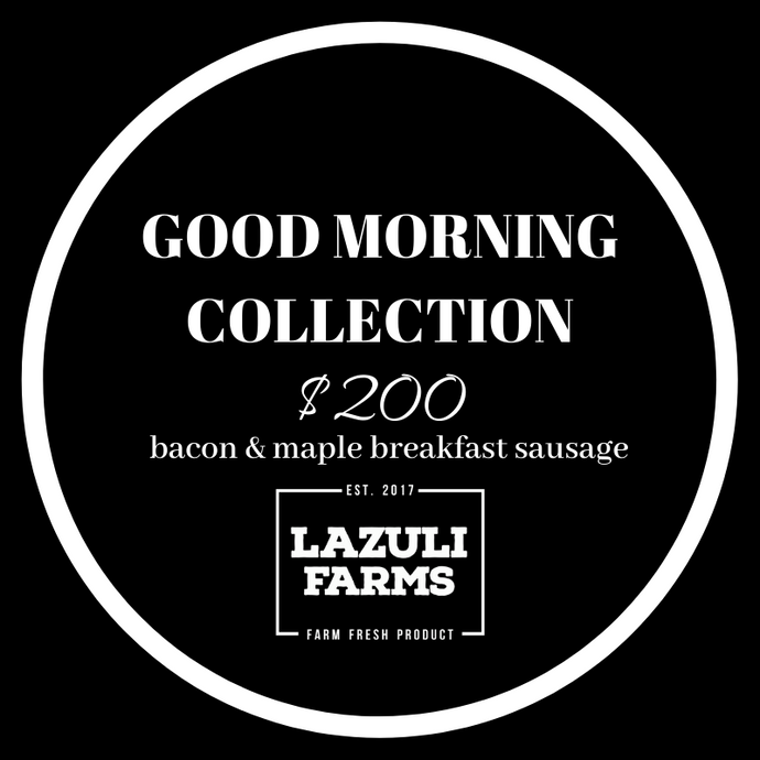 Good Morning Collection - Bacon | Breakfast Sausage