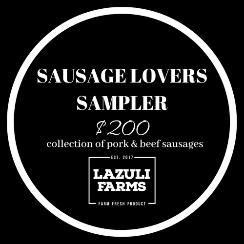 Sausage Lovers' Collection - Pork | Sausage - Lazuli Farms