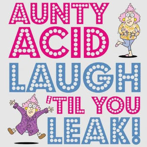Aunty Acid's Laugh Until You Leak Humor Book Gibbs Smith