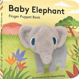 Baby Elephant Finger Puppet Book Kids Books Tabula Rasa Essentials