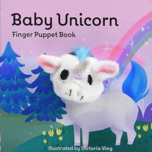 Baby Unicorn Finger Puppet Book Kids Books Tabula Rasa Essentials