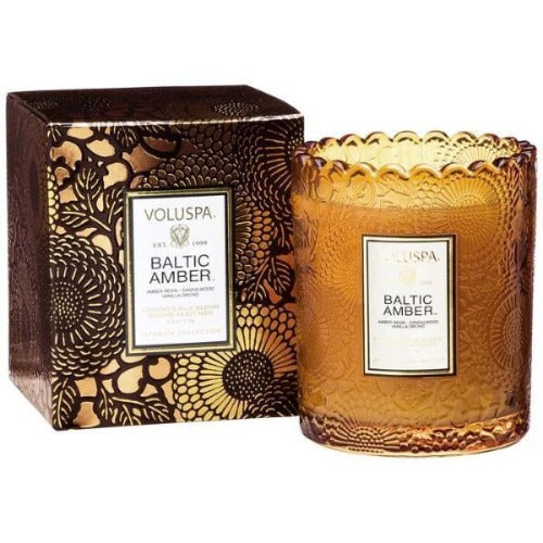 Baltic Amber Scallop Candle Candles Voluspa