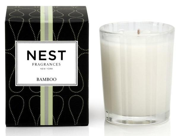 Bamboo Votive Candle Candles NEST Fragrances