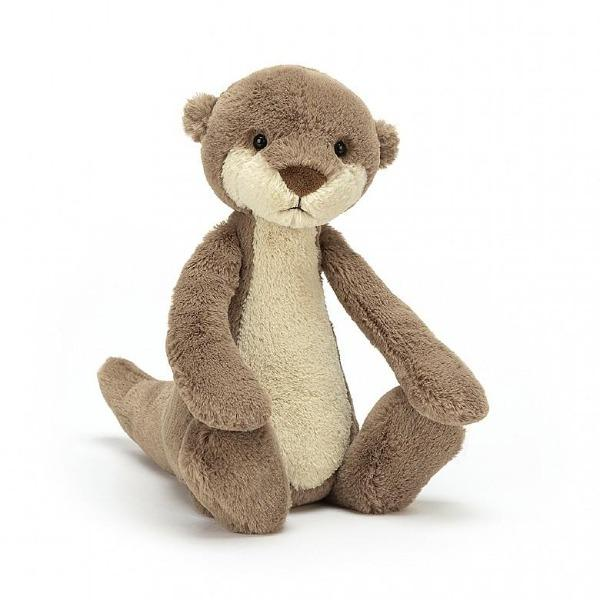 "Bashful Otter Small - 7""x4"" Plush Toy Jellycat"