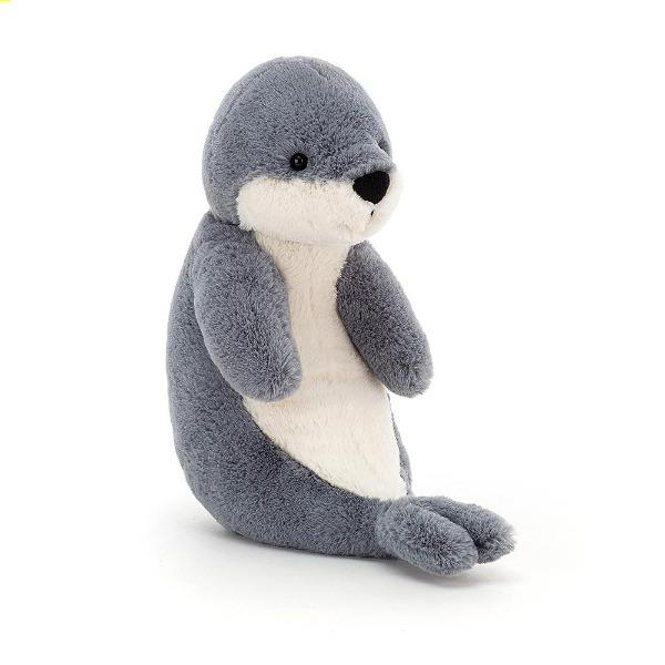 "Bashful Seal - 9""x5"" Plush Toy Jellycat"