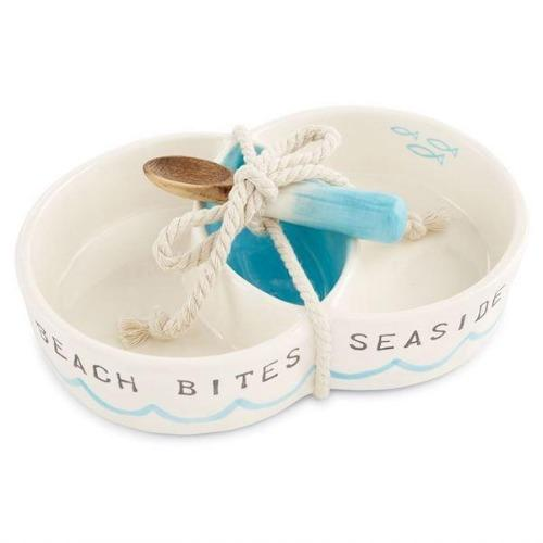 Beach Circular Section Server Serveware Mud Pie