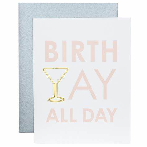 Birthyay All Day Greeting Card Greeting Cards Tabula Rasa Essentials