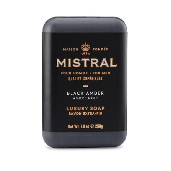 Black Amber Bar Soap Bar Soap Mistral