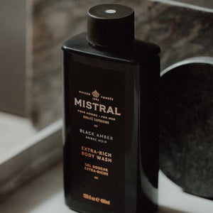 Black Amber Body and Hair Wash Body Wash Mistral