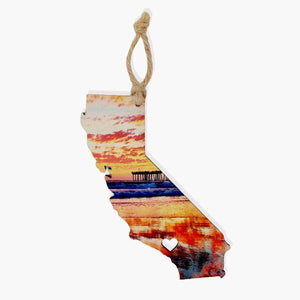 California Ornament / Gift Tag Ornament Tabula Rasa Essentials Aura